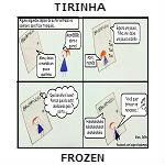 tirinha frozen link